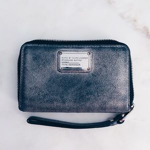 Marc Jacobs Black Silver Small wallet
